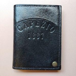Capezio leather card holder